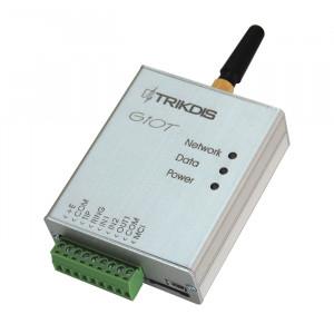 Μεταδότης σημάτων συναγερμού TRIKDIS GSM/GPRS G10T για την μετάδοση μηνυμάτων συναγερμού μέσω GSM | TX-G10T
