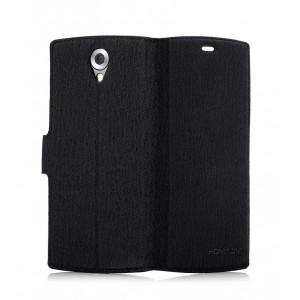 HOMTOM Book Case για Smartphone HT7 / HT7 Pro, Black