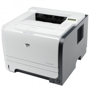 HP used Printer LaserJet P2055d, Laser, Mono, no toner