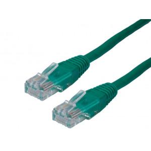 Powertech καλωδιο UTP CAT5E, CCA, GREEN, 1M