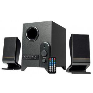 REINA Ηχεία RT-3013 2.1, 8W + 2x 4W, USB/FM/SD/RC, Τηλεχειριστήριο