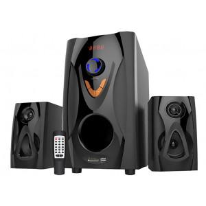 REINA Ηχεια RT-3075 2.1, 15W + 2x 10W, USB/FM/SD, Τηλεχειριστηριο