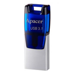 APACER USB Flash Drive AH179, USB 3.1, 32GB, Blue