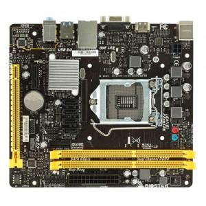 BIOSTAR μητρικη H110MHV3, s1151, 2xDDR3L, HDMI, USB 3.0, mATX