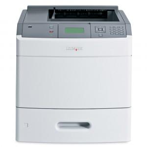 LEXMARK used Printer T654dn, Laser, Mono, με toner από 10% εώς 50%