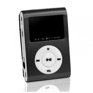 SETTY MP3 Player LCD, Earphones, Black