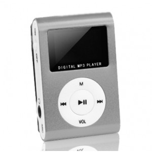 SETTY MP3 Player LCD, Earphones, Silver