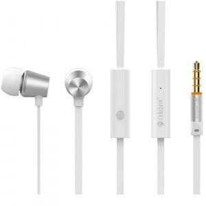 CELEBRAT ακουστικα με μικροφωνο N2, White