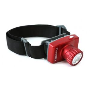 OMEGA LED Φακός Κεφαλής, 8 LED