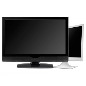 Used Οθονες LCD 19 inch (ενδεικτικη φωτογραφια προϊοντος), Black