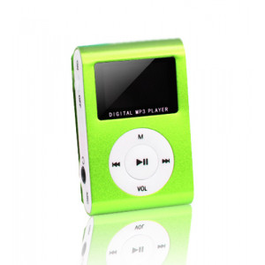 SETTY MP3 Player LCD, Earphones, Green