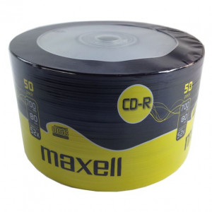Maxell CD-R 80min 700mb 52x 50 Spindle CARRY PACK