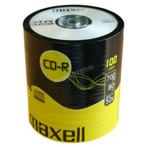 MAXELL CD-R 80min 700mb 52x 100 Spindle