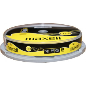 MAXELL CD-R 80min 700mb 52x 10 spindle