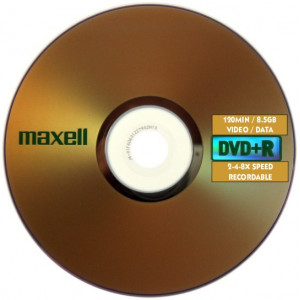 MAXELL dvd+r DL 8x 240min, 25 Spindle