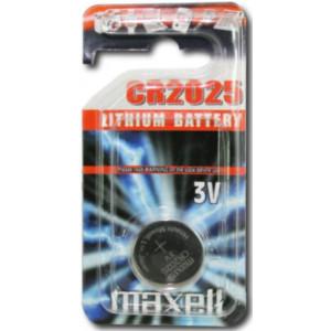MAXELL Μπαταρια λιθιου 3v - CR2025 - 5ΤΕΜ