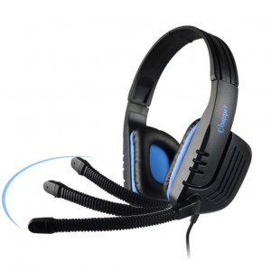 SADES Gaming headset (Chopper) με 40mm πανίσχυρα ακουστικά - BLUE