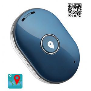 Mini GPS Eντοπισμου Θεσης Q60, 400mAh, Αδιαβροχο, Blue