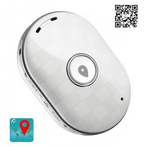 Mini GPS Eντοπισμού Θέσης Q60, 400mAh, Αδιάβροχο, White