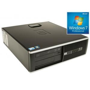HP used Η/Υ Compaq 6200 Pro SFF, i3-2100, 4GB, 500GB HDD, DVD-RW, Win 7