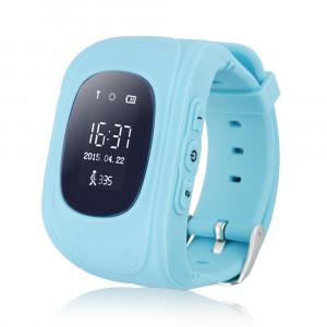 GPS Παιδικό ρολόι χειρός Q50, SOS-Βηματομετρητής, Blue  AK-Q50-BL