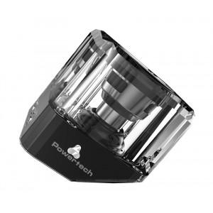 POWERTECH Bluetooth Speaker, Portable, 3W, Led Light, Black