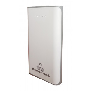 POWERTECH Power Bank 12000mAh, 2x USB, Gray