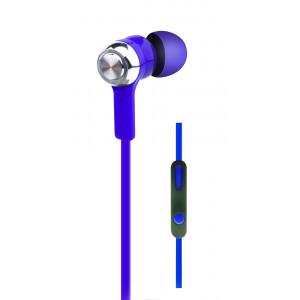 OVLENG Ακουστικά Handsfree IP180, On-Off, Blue