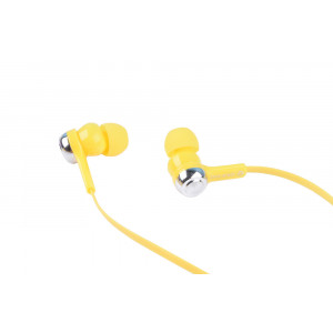 OVLENG Ακουστικά Handsfree IP180, On-Off, Yellow