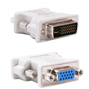 POWERTECH Adapter VGA Female σε DVI-I 24+1 pin Male