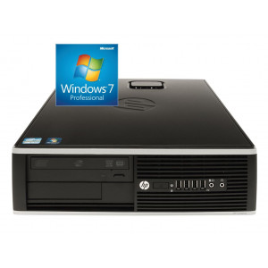 HP used Η/Υ 8200 Elite SFF, i7-2600, 8GB, 250GB HDD, DVD-RW, Win 7