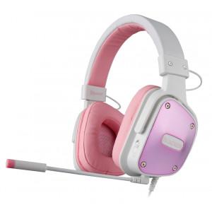 SADES Gaming Headset Dpower, 3.5mm, 40mm ακουστικα, Pink
