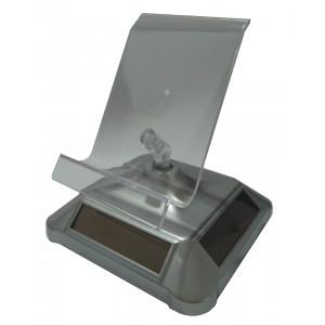 Ηλιακη περιστρεφομενη βαση προβολης κινητων βιτρινας, Silver
