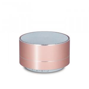 FOREVER Bluetooth Speaker PBS-100 Portable, FM radio, microSD, Rose Gold