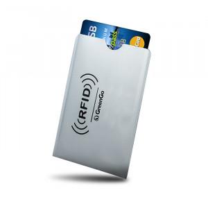 GREENGO Θηκη Paypass προστασιας ασυρματης αναγνωσης πιστωτικων καρτων