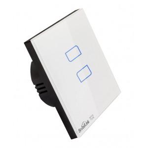 BROADLINK Εξυπνος Διακοπτης τοιχου TC2, Touch & Remote, Διπλος