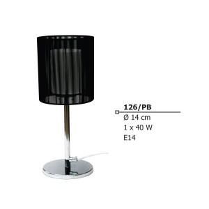 INDOOR TABLE LAMP E14 40W 230V 126/pb Φ14Χ36 CM