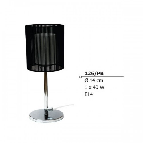 INDOOR TABLE LAMP E14 40W 230V 126/pb