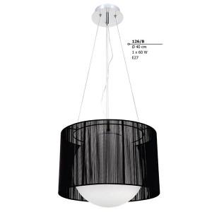 INDOOR LIGHTING LAMP E27 60W 230V 126/b Φ40Χ120 CM