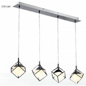 INDOOR LIGHTING LAMP 4xG9 LED 230V SPOTLIGHT 3151/4M 120X96X7 MM