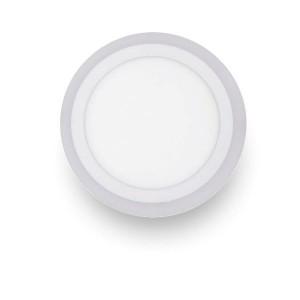 Φωτιστικο τυπου PL LED οροφης χωνευτο 18+6W 3 αναματα Spotlight 5288