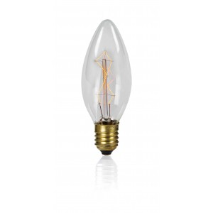 ΛΑΜΠΤΗΡΑΣ EDISON E27 40W 230V RETRO LIGHTING C35-7A