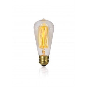ΛΑΜΠΤΗΡΑΣ EDISON E27 40W 230V RETRO LIGHTING ST64-19Α