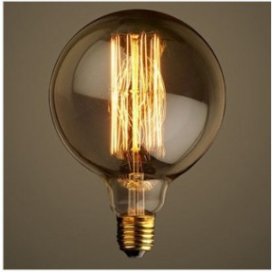 ΛΑΜΠΤΗΡΑΣ EDISON E27 40W 230V RETRO LIGHTING G125-28A
