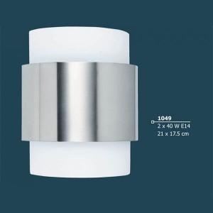 INDOOR WALL LIGHTING LAMP 2x40W E14 230V 1049