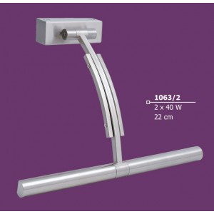INDOOR WALL LIGHTING LAMP 2x40W G9 230V 1063-2