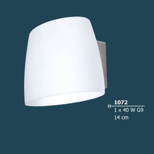 INDOOR WALL LIGHTING LAMP 40W G9 230V 1072