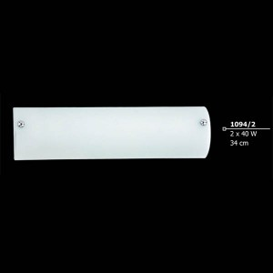 INDOOR WALL LIGHTING LAMP 2x40W E14 230V 1094-2