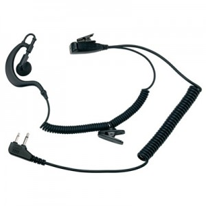 EARPIECE WITH MICROPHONE MIDLAND MA 21L