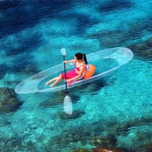 Real Young Clear Kayak 1p.